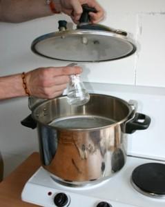 Stériliser l'eau