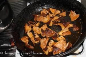 Cuisiner le Shiitake